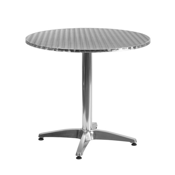 Flash Furniture 31.5 Inch Round Indoor Outdoor Table with Base FLF-TLH-052-3-GG