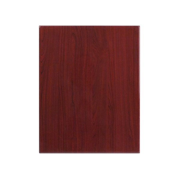 Flash Furniture 24 X 30 Rectangular Resin Mahogany Table Top FLF-TP-MAH-2430-GG