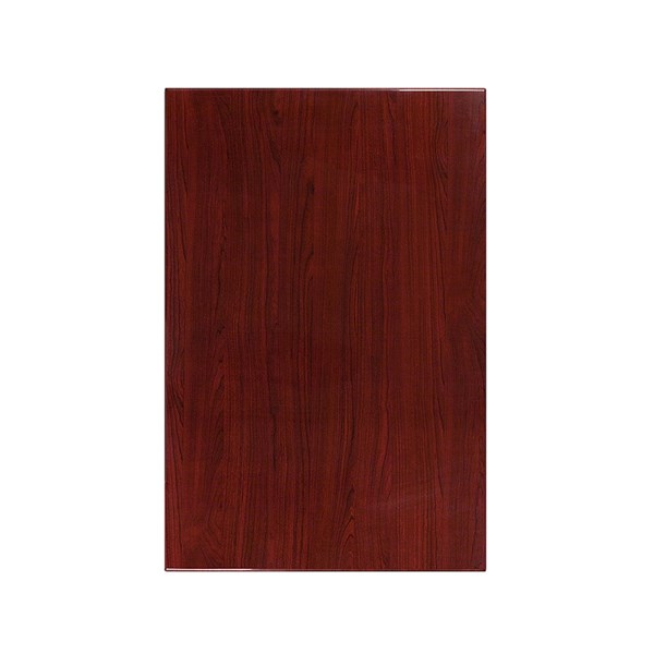 Flash Furniture 30 X 45 Rectangular Resin Mahogany Table Top FLF-TP-MAH-3045-GG