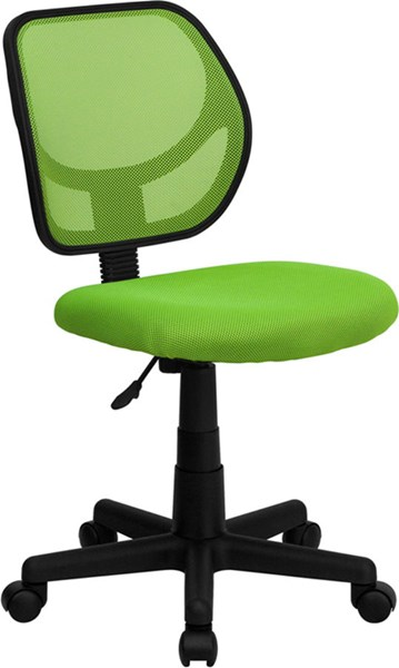 Flash Furniture Mid Back Green Mesh Swivel Task Chair FLF-WA-3074-GN-GG