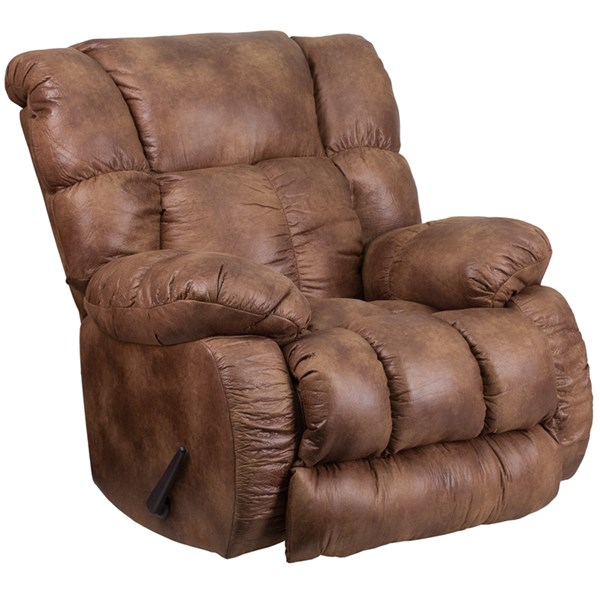 Padre Contemporary Breathable Comfort Almond Fabric Rocker Recliner FLF-WA-8230-691-GG