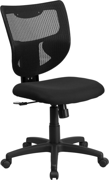 Flash Furniture Galaxy Black Mesh Swivel Task Chairs FLF-WL-F061SYG-MF-GG-OFF-CH-VAR
