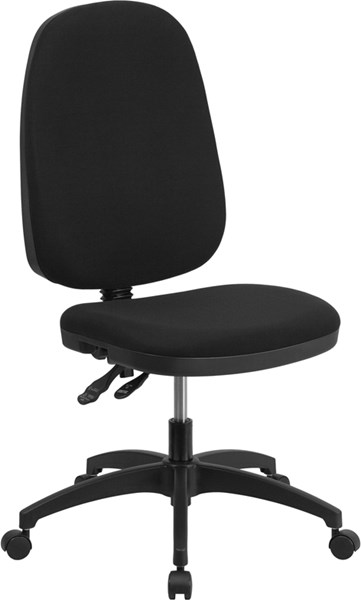 Fabric Multi-Functional Swivel Task Chairs FLF-WR79-GG-OFF-CH-VAR