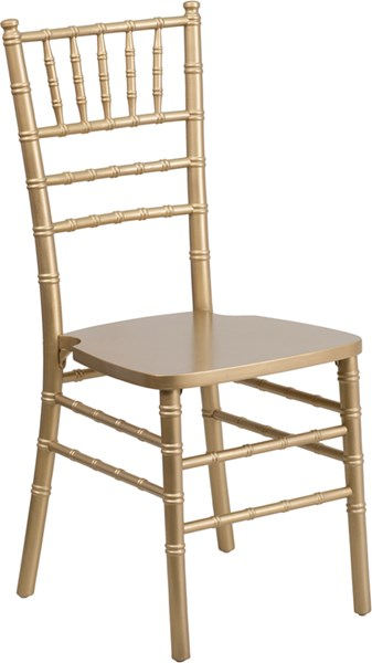 Flash Furniture Hercules Gold Wood Chiavari Chair FLF-XS-GOLD-GG
