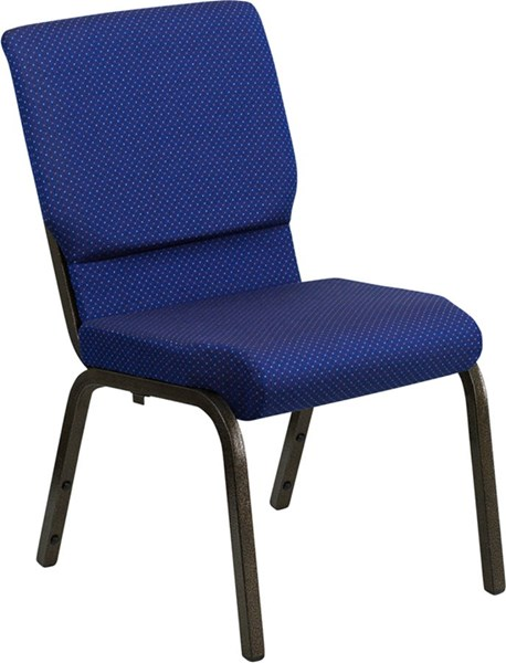Flash Furniture Hercules 18.5 Inch Wide Navy Blue Stacking Church Chair FLF-XU-CH-60096-NVY-DOT-GG