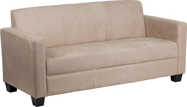 Grand Series Contemporary Brown Chocolate Fabric Polyester Wood Sofas FLF-Y-H902-3-BN-GG-SF-VAR