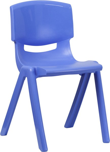 Plastic Stackable School Chairs W/18 Inch Seat Height FLF-YU-YCX-007-GG-VAR