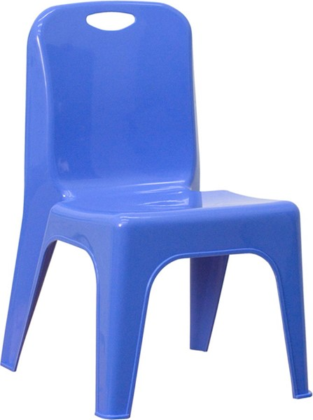 Plastic Stackable School Chairs w/Carrying Handle FLF-YU-YCX-011-GG-VAR