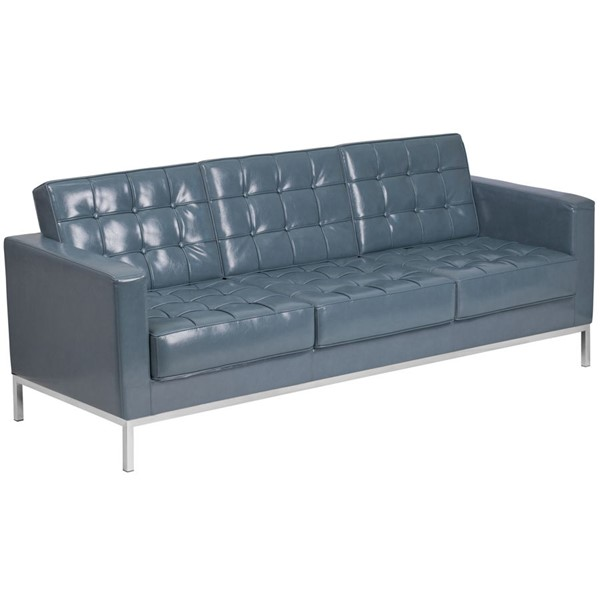 Flash Furniture Hercules Lacey Gray Sofa FLF-ZB-LACEY-831-2-SOFA-GY-GG