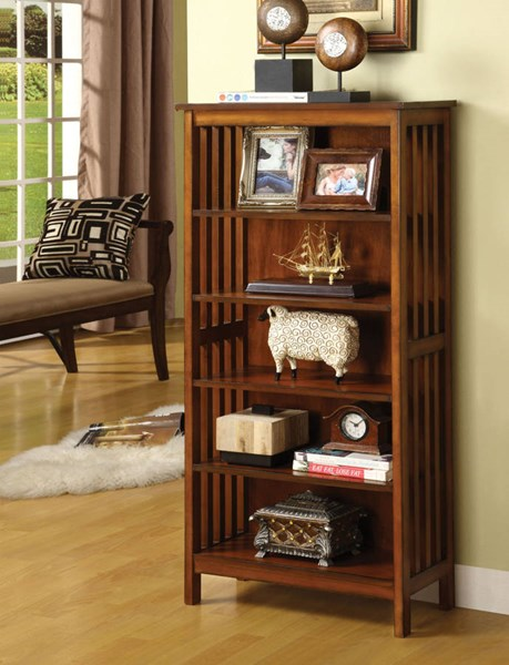 Furniture of America Valencia I Media Shelf FOA-CM-AC249