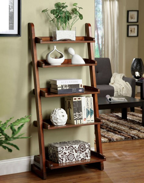 Furniture of America Lugo Ladder Shelf FOA-CM-AC293