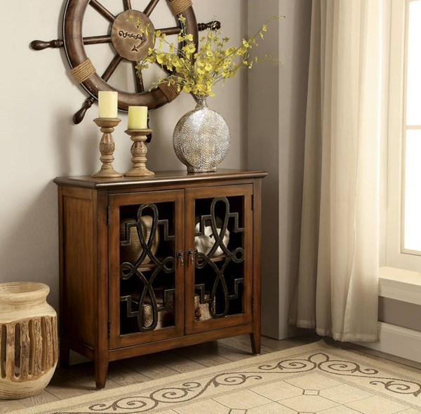 Lola Coffee Table With Storage: Furniture Of America Lola Storage Cabinet