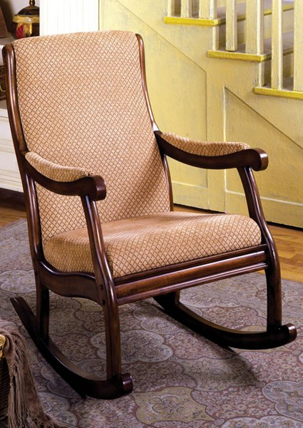 Furniture of America Liverpool Rocking Chair FOA-CM-AC6408