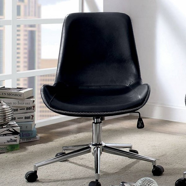 Furniture of America Mulholland Black Office Chair FOA-CM-AC6530BK