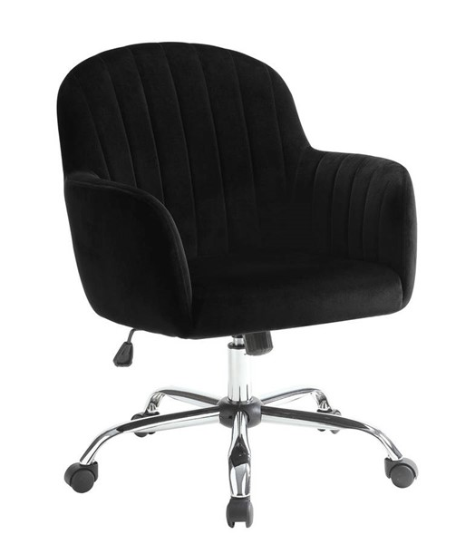 Furniture of America Valery Black Office Chair FOA-CM-AC6534BK