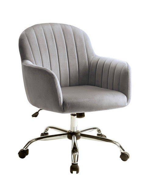 Furniture of America Valery Gray Office Chair FOA-CM-AC6534GY