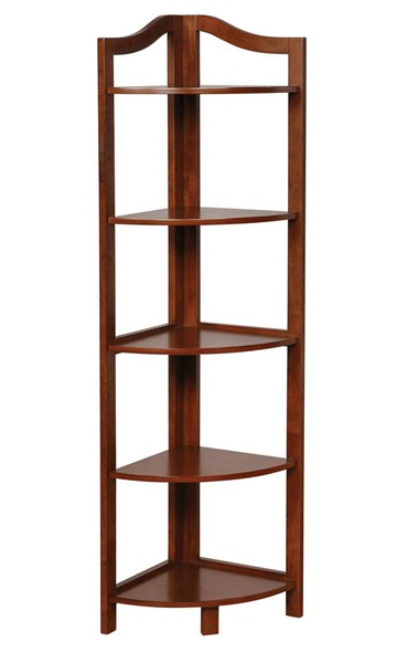 Furniture of America Alyssa Oak Ladder Shelf FOA-CM-AC804A