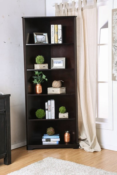 Furniture of America Rockwall Bookcases FOA-CM-AC806-BC-VAR