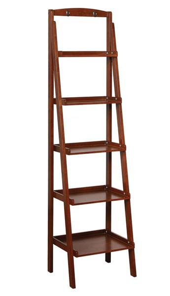 Furniture of America Theron Oak Ladder Shelves FOA-CM-AC808-BC-VAR