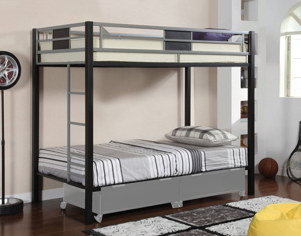 Furniture of America Clifton Bunk Beds FOA-CM-BK102-BBED-VAR