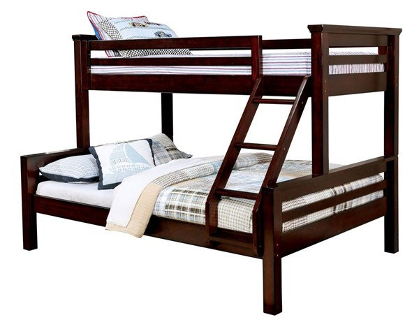 Furniture of america marcie twin over queen bunk bed the for Furniture of america bed reviews