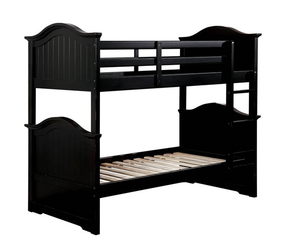Furniture of America Hermine Twin over Twin Bunk Beds FOA-CM-BK635-BBED-VAR