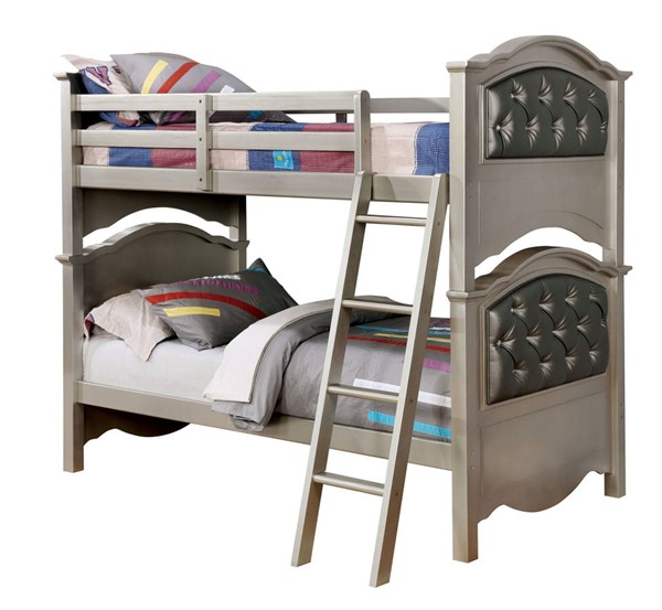 Furniture Of America Dominique Twin Over Twin Bunk Bed FOA-CM-BK716-BED