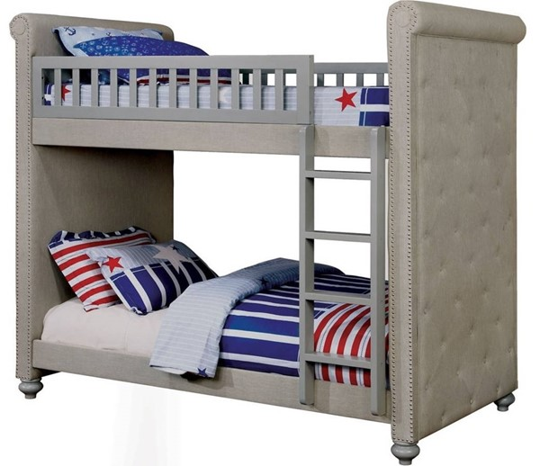 Furniture Of America Sascha Twin Over Twin Bunk Bed FOA-CM-BK718-BED
