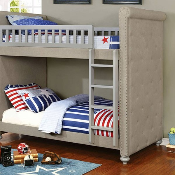 Furniture of America Sascha Bunk Bed FOA-CM-BK718-BED