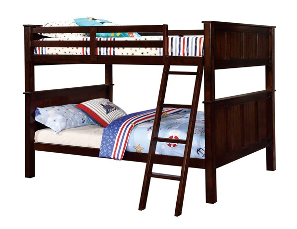 Furniture of America Gracie Full Over Full Bunk Bed FOA-CM-BK930FF-BED
