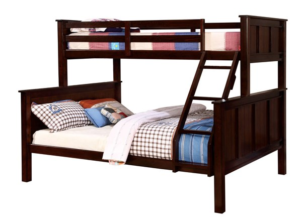 Furniture of America Gracie Twin Over Queen Bunk Bed FOA-CM-BK930TQ-BED