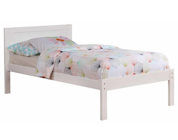Furniture Of America Annemarie White Twin Bed FOA-CM-BK965WH-T-BED