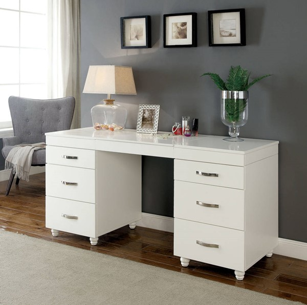Furniture Of America Verviers Vanity Desk The Classy Home