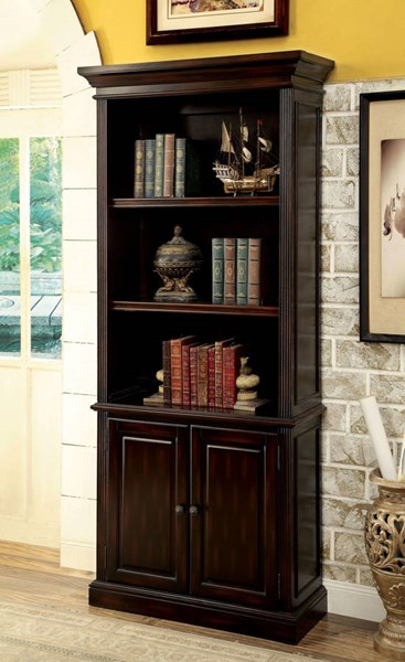 Furniture of America Coolidge Book Shelf FOA-CM-DK6208S
