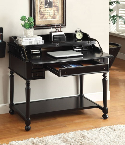 Furniture of America Lexden Secretary Desks FOA-CM-DK6223-HO-DS-VAR