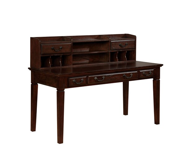 Furniture of America Tami Writing Desk with Hutch FOA-CM-DK6384DL-PK