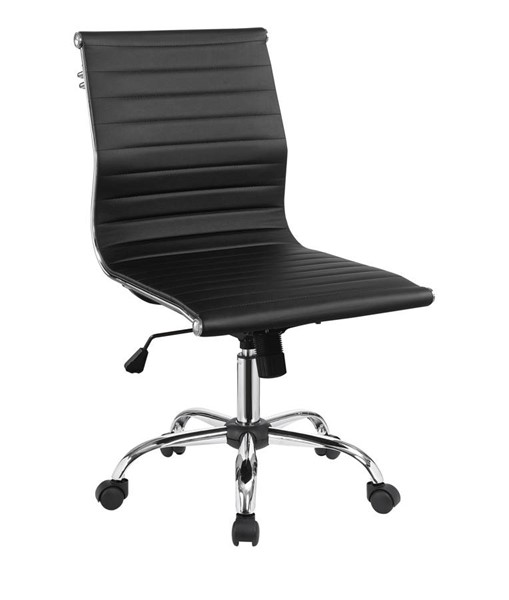 Furniture of America Armour Black Office Chair FOA-CM-FC629BK