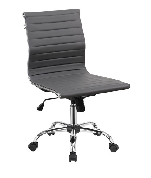 Furniture of America Armour Gray Office Chair FOA-CM-FC629GY