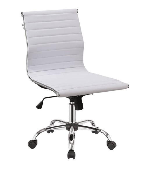 Furniture of America Armour White Office Chair FOA-CM-FC629WH