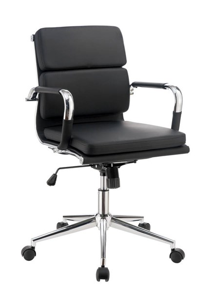 Furniture of America Mercedes Black Office Chair FOA-CM-FC636S-BK