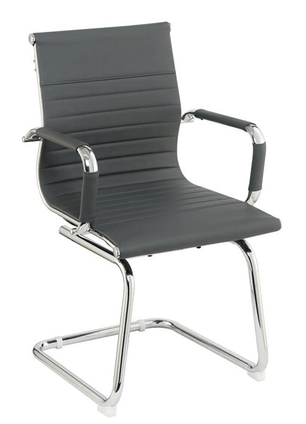 Furniture of America Mesa Gray Office Chair FOA-CM-FC657GY