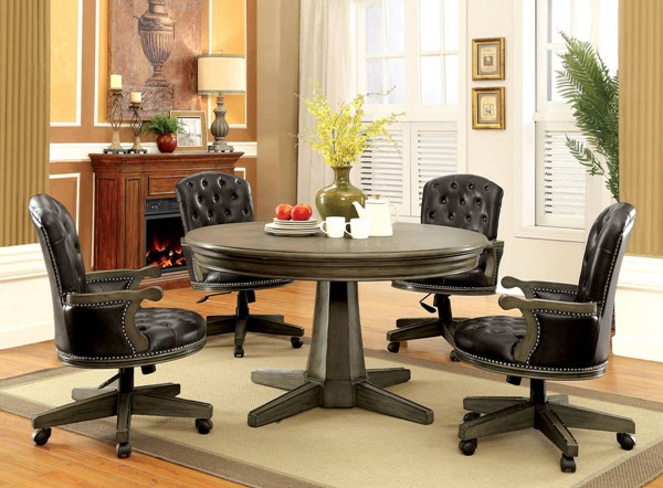 Furniture of America Yelena Dining Room Set FOA-CM-GM357-DR
