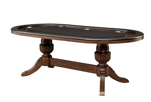 Furniture of America Melina Brown Cherry Game Table FOA-CM-GM367CH-T-TABLE