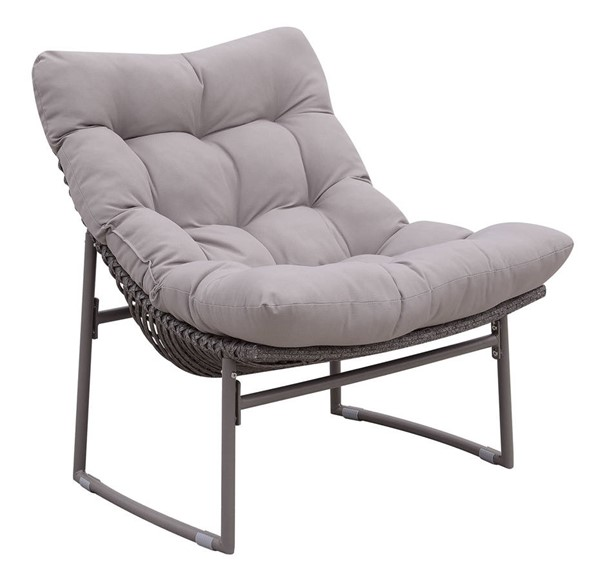 Furniture of America Amya Gray Outdoor Chair FOA-CM-OC2134-CH