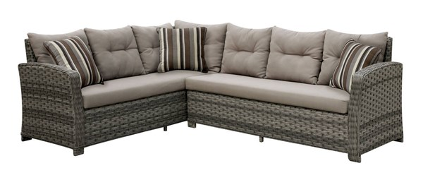 Furniture of America Moura Patio Sectional FOA-CM-OS1816
