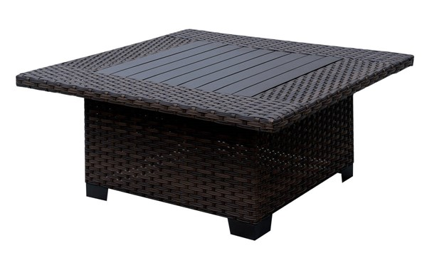 Furniture of America Bushnell Outdoor Square Coffee Tables FOA-CM-OS1840-SQ-VAR