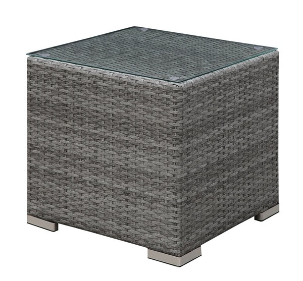 Furniture of America Somani Gray Ivory End Tables FOA-CM-OS2128-ET-VAR