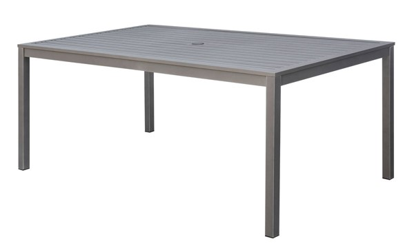 Furniture of America Colome Patio Dining Table FOA-CM-OT1845-T