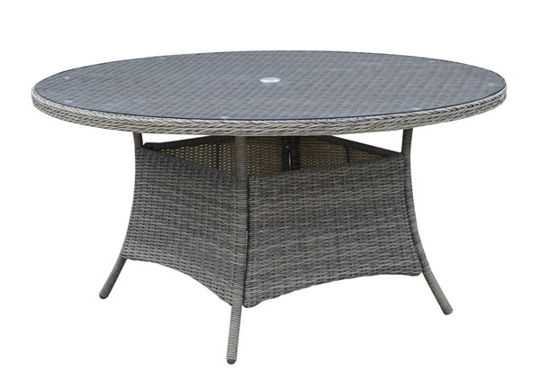 Furniture of America Canistota 59 Inch Round Patio Table FOA-CM-OT2220-59-TABLE