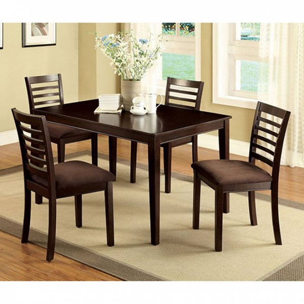 Furniture of America Eaton I 5pc Dining Room Set FOA-CM3001T-5PK